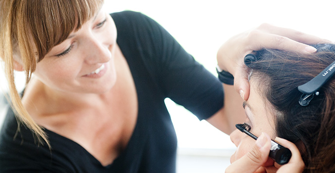 portaitfoto frau makeup visagistin fotoshooting